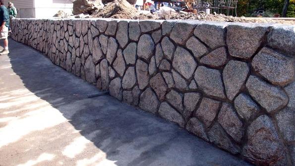MasterStone Retaining Wall